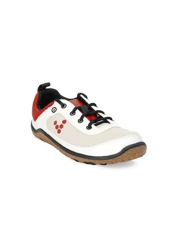 Vivobarefoot Kids Unisex Neo White Shoes