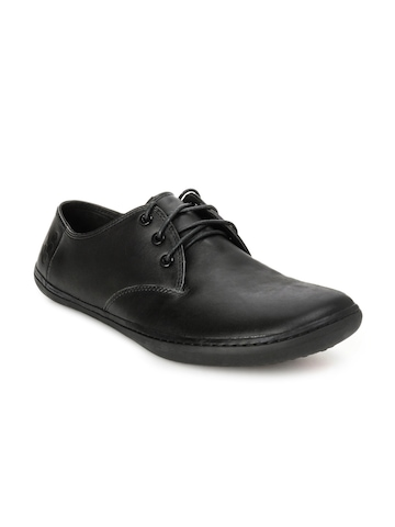 Vivobarefoot Men Black Formal Shoes