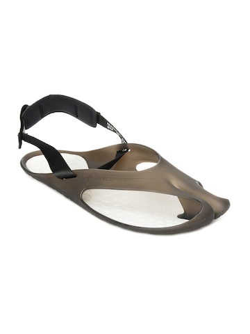 Vivobarefoot Men Achilles Black & White Sandals