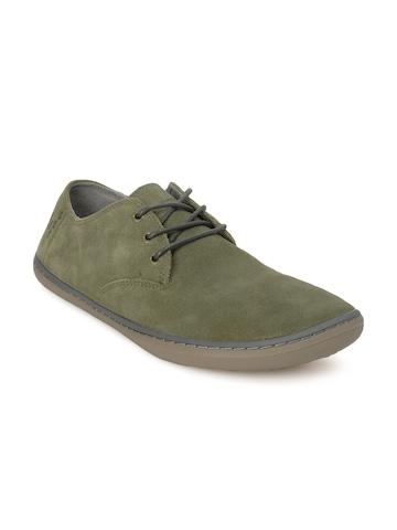 Vivobarefoot Men Ra Olive Shoes