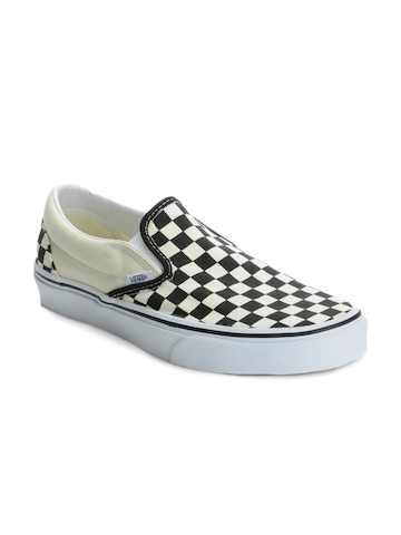 Vans Men Black & Cream Casual Shoes