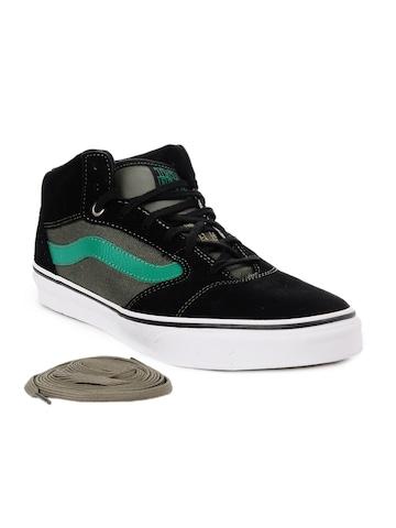 Vans Men Black Shoes