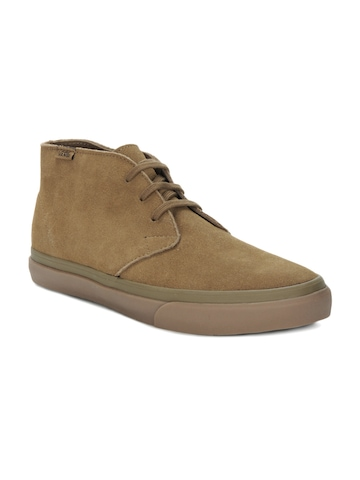 Vans Men Brown Casual Shoes