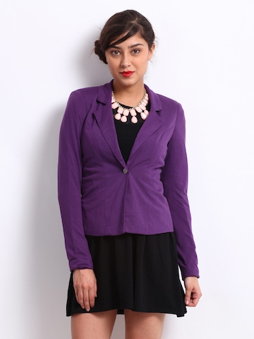 Buy Vero Moda Women Purple Blazer - Blazers for Women | Myntra