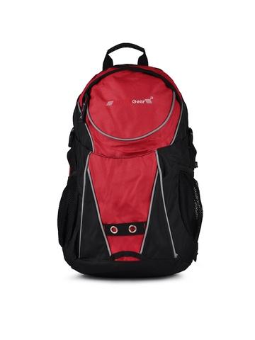 Vital Gear Unisex Black Backpack