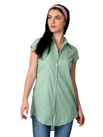 W Women Green Top