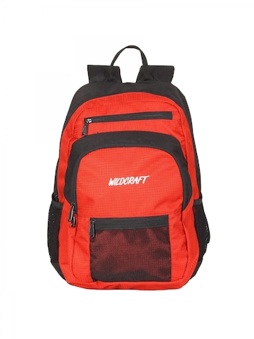 Wildcraft Unisex Red Backpack