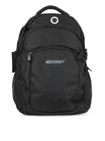 Wildcraft Unisex Black Cruiser Backpack
