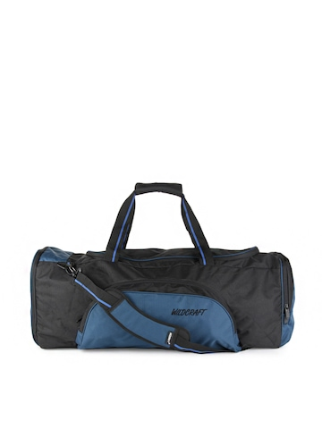 Wildcraft Unisex Black Gear for Life Duffle Bag