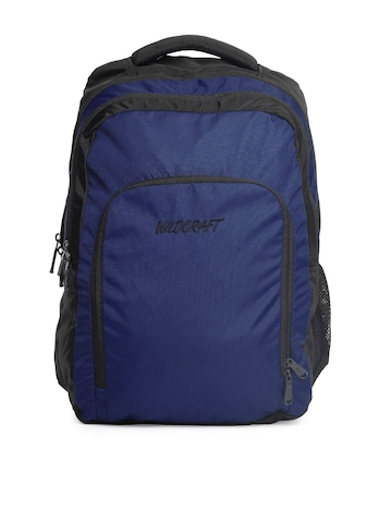 Wildcraft Unisex Blue & Black Backpack