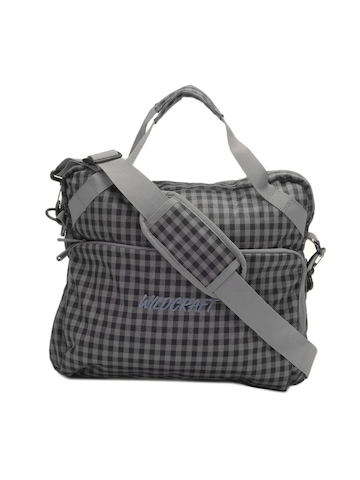 Wildcraft Unisex Grey Spawn Laptop Bag