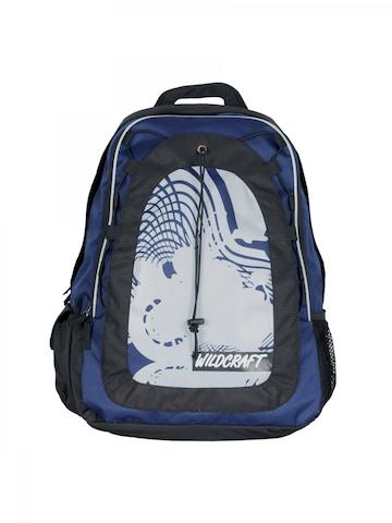 Wildcraft Unisex Meteor Blue & Black Backpack