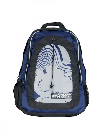 Wildcraft Unisex Meteor Blue & Black Backpack