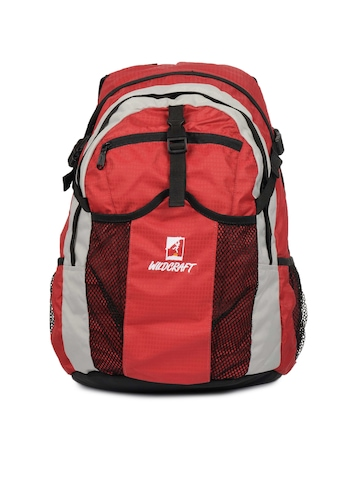 Wildcraft Unisex Outdoors Fusion Red Backpack