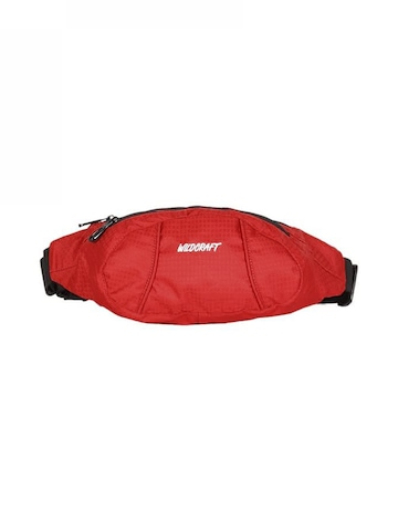 Wildcraft Unisex Red Waist Pouch