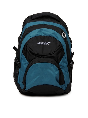 Wildcraft Unisex Ursa Blue & Black Backpack