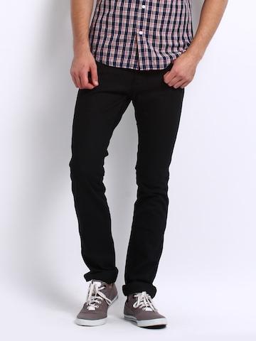 Black Jeans Slim Fit Men - Xtellar Jeans