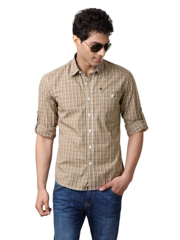 Wrangler Men Brown Shirt