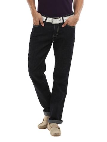 Wrangler Men Navy Blue Millard Jeans
