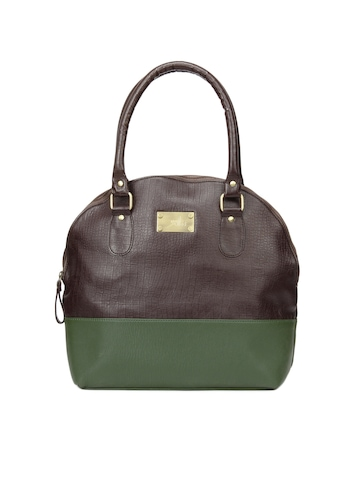 Yelloe Brown New level of utility Handbag