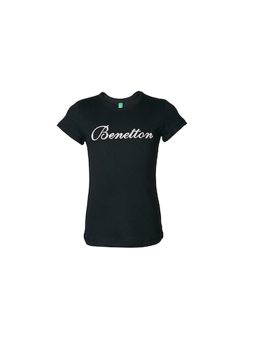 United Colors of Benetton Kids Girls Black Top