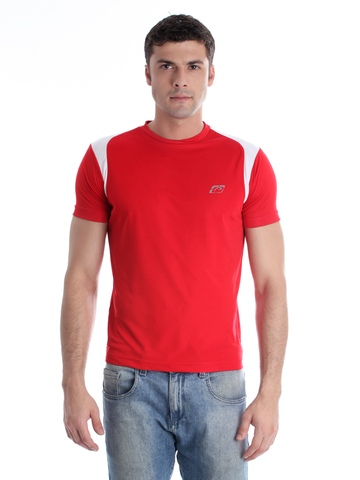 Proline Men Red T-shirt