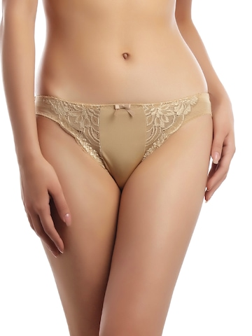 Enamor Women Beige Briefs