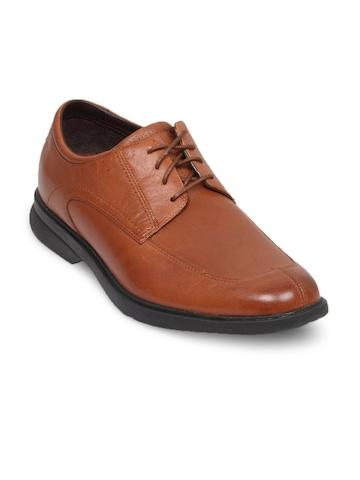 Rockport Men's Alfrew Dark Tan Shoe