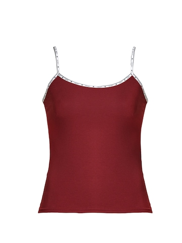 Jockey Women Red Camisole