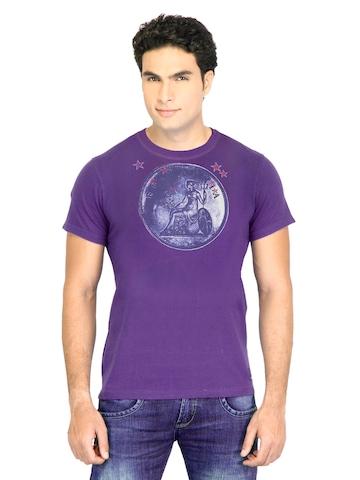 Facit Men Smart Purple Tshirt