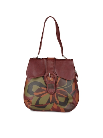 Baggit Women Maroon Bag