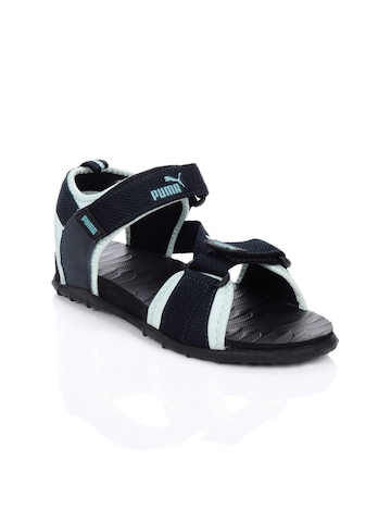Puma Women Roque Navy Blue Sandals