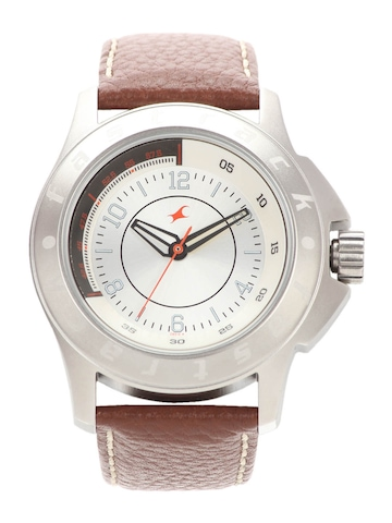 Fastrack Men Silver Dial Watch