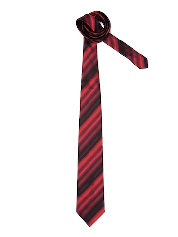 Peter England Men Elite Black Tie