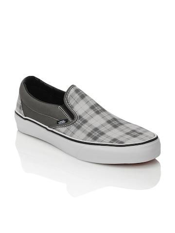 Vans Men Classic Slip-On Grey Shoes