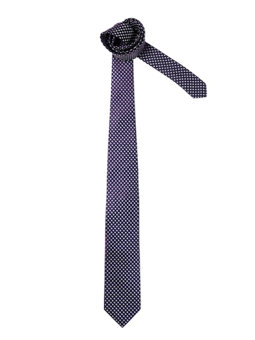 United Colors of Benetton Men Check Purple Tie