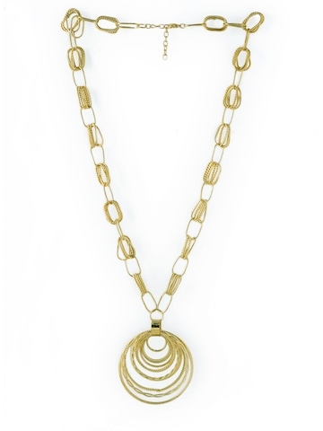 Pitaraa Golden Necklace