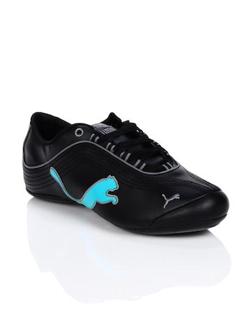 Puma Women Soleil Cat Black Shoes