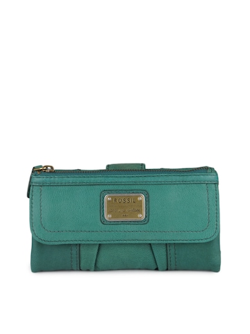 Fossil Women Green Wallet