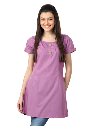 Sepia Women Lavender Tunic