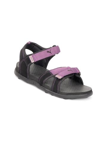 Puma Women Purple Techno Sandals