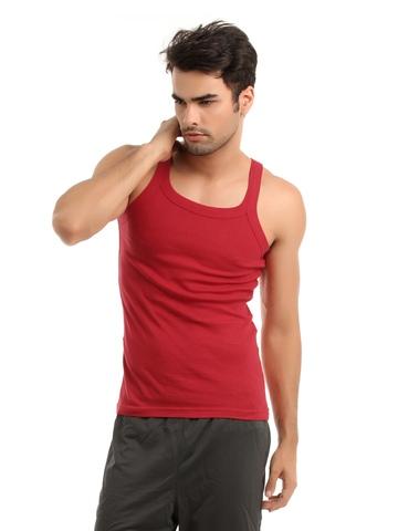 Hanes Men Red Innerwear Vest