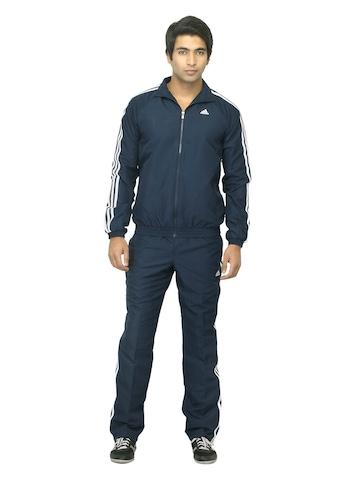 Adidas Men Navy Blue Tracksuit