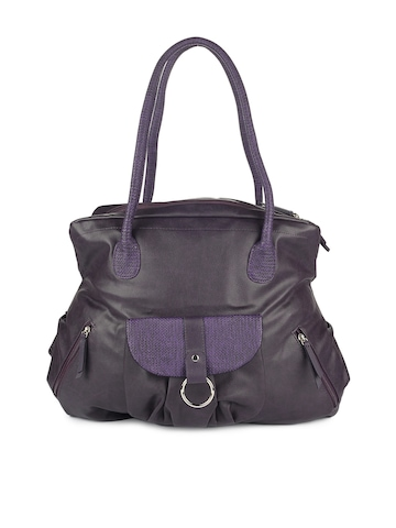Baggit Women Purple Highway Taj Handbag