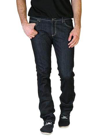 Wrangler Men Navy Blue Skanders Jeans
