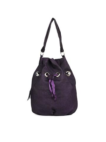 Baggit Women Banjara Taj Purple Handbag