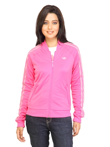 Adidas Originals Women Supergirl TT Pink Jacket