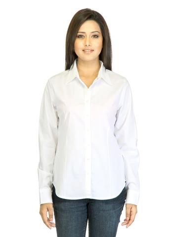 Arrow Woman White Shirt