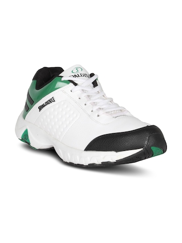 Spalding Men's Running White Green Shoe