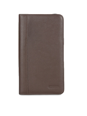 American Tourister Unisex Brown Passport Holder